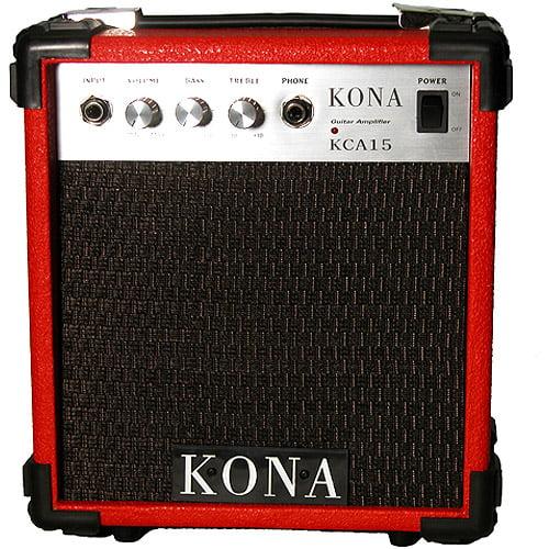 Kona 10-Watt Electric Guitar Amplifier, Red Finish