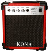 Kona 10-Watt Electric Guitar Amplifier, Red Finish