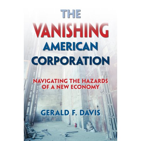 The Vanishing American Corporation : Navigating the Hazards of a New Economy It may be hard to believe in an era of Walmart, Citizens United, and the Koch brothers, but corporations are on the decline. The number of American companies listed on the stock market dropped by half between 1996 and 2012. In recent years we've seen some of the most storied corporations go bankrupt (General Motors, Chrysler, Eastman Kodak) or disappear entirely (Bethlehem Steel, Lehman Brothers, Borders).  Gerald Davis argues this is a root cause of the income inequality and social instability we face today. Corporations were once an integral part of building the middle class. He points out that in their heyday they offered millions of people lifetime employment, a stable career path, health insurance, and retirement pensions. They were like small private welfare states.  The businesses that are replacing them will not fill the same role. For one thing, they employ far fewer people--the combined global workforces of Facebook, Yelp, Zynga, LinkedIn, Zillow, Tableau, Zulily, and Box are smaller than the number of people who lost their jobs when Circuit City was liquidated in 2009. And in the  sharing economy,  companies have no obligation to most of the people who work for them--at the end of 2014 Uber had over 160,000  driver-partners  in the United States but recognized only about 2,000 people as actual employees.  Davis tracks the rise of the large American corporation and the economic, social, and technological developments that have led to its decline. The future could see either increasing economic polarization, as careers turn into jobs and jobs turn into tasks, or a more democratic economy built from the grass roots. It's up to us.