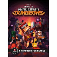 Minecraft: Guide to Minecraft Dungeons : A Handbook for Heroes (Hardcover)