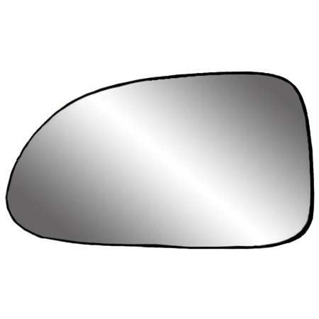 "88017 - Fit System Driver Side Non-heated Mirror Glass w/ backing plate, Dodge Dakota Pick-Up, Durango 97-00, 5"" x 8 1/ 16"" x 8 5/ 16"" (non-foldaway mirrors, 5x7)"