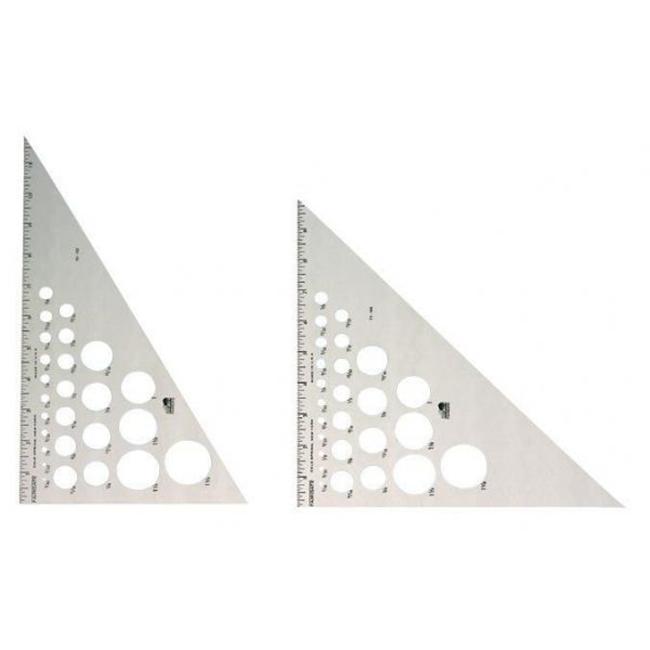 Alvin AT230-12 Triangle Alum 30-60 12 Inch