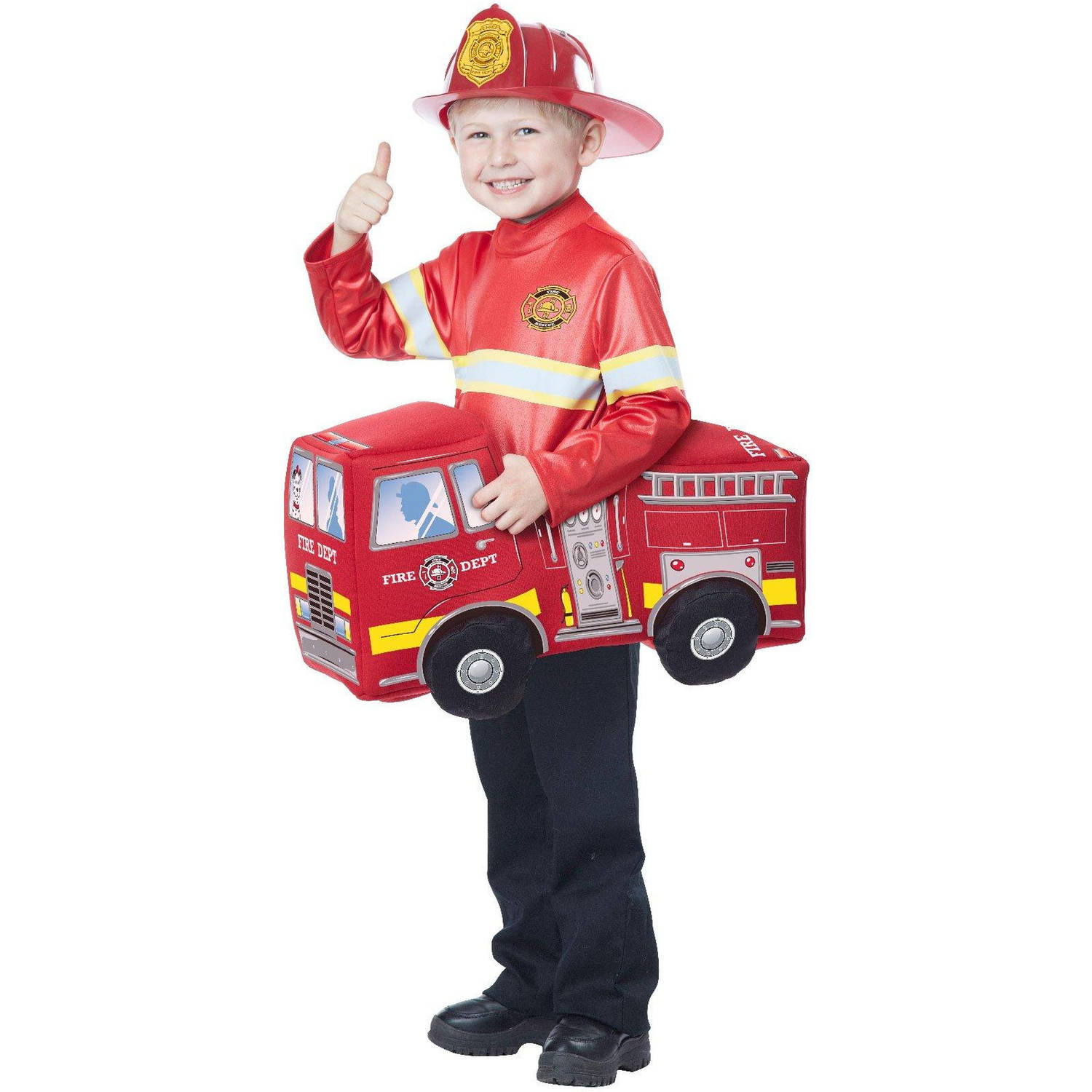 Firetruck Hero Rider Child Halloween Costume, 1 Size