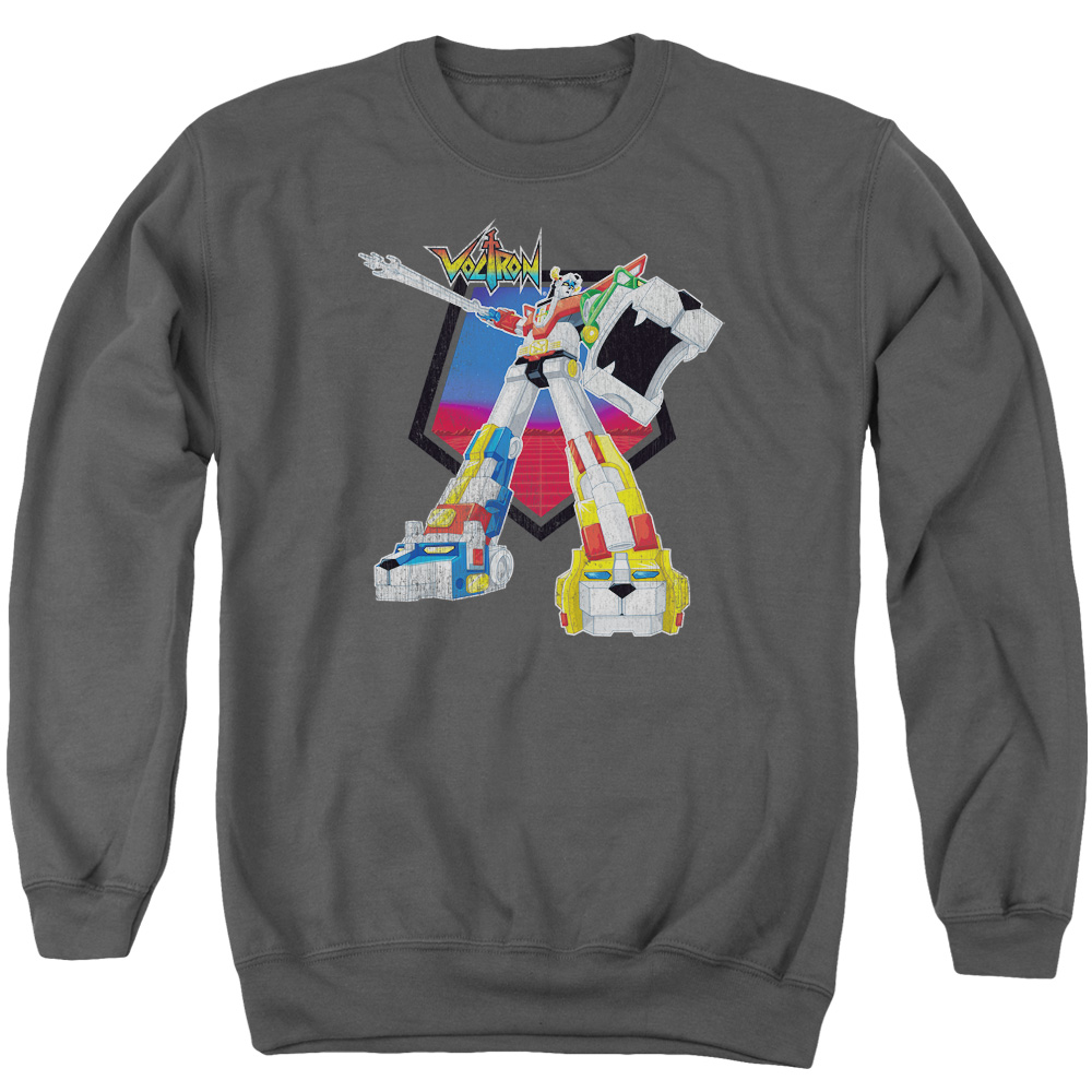 Voltron Blazing Sword Mens Crewneck Sweatshirt