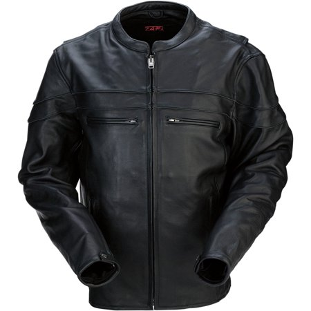 Z1R 45 Leather Jacket Black Lg  2810-2782
