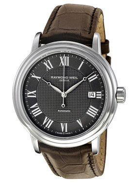 21befe5bef4 Product Image Raymond Weil Maestro Automatic Leather Strap Men s Watch 2837- STC-00609