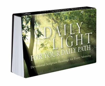 Daily Light For Your Daily Path Pocket Companion : Devotional Scripture  Readings For Every Morning