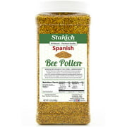 Stakich SPANISH BEE POLLEN GRANULES 5 lb (80 oz) - 100% Pure, Natural, Unprocessed -