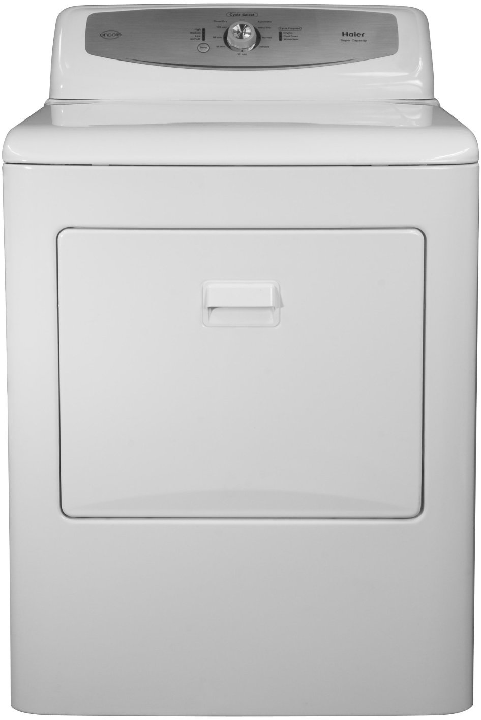 Haier RDE350AW 6.5 Cu Ft Capacity Encore Electric Dryer with 3 Dryness  Levels and 5 Auto Dry Cycles White - Walmart.com
