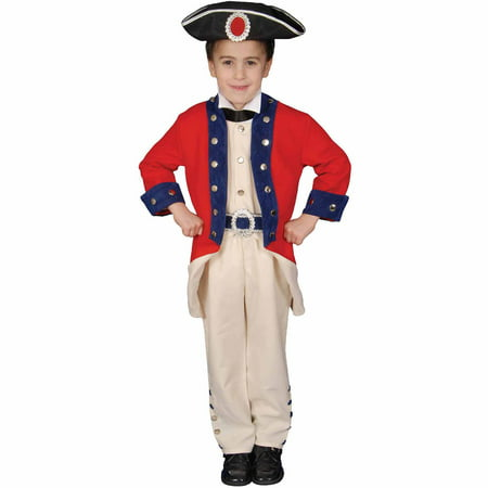 Colonial Soldier Child Halloween Costume for $<!---->