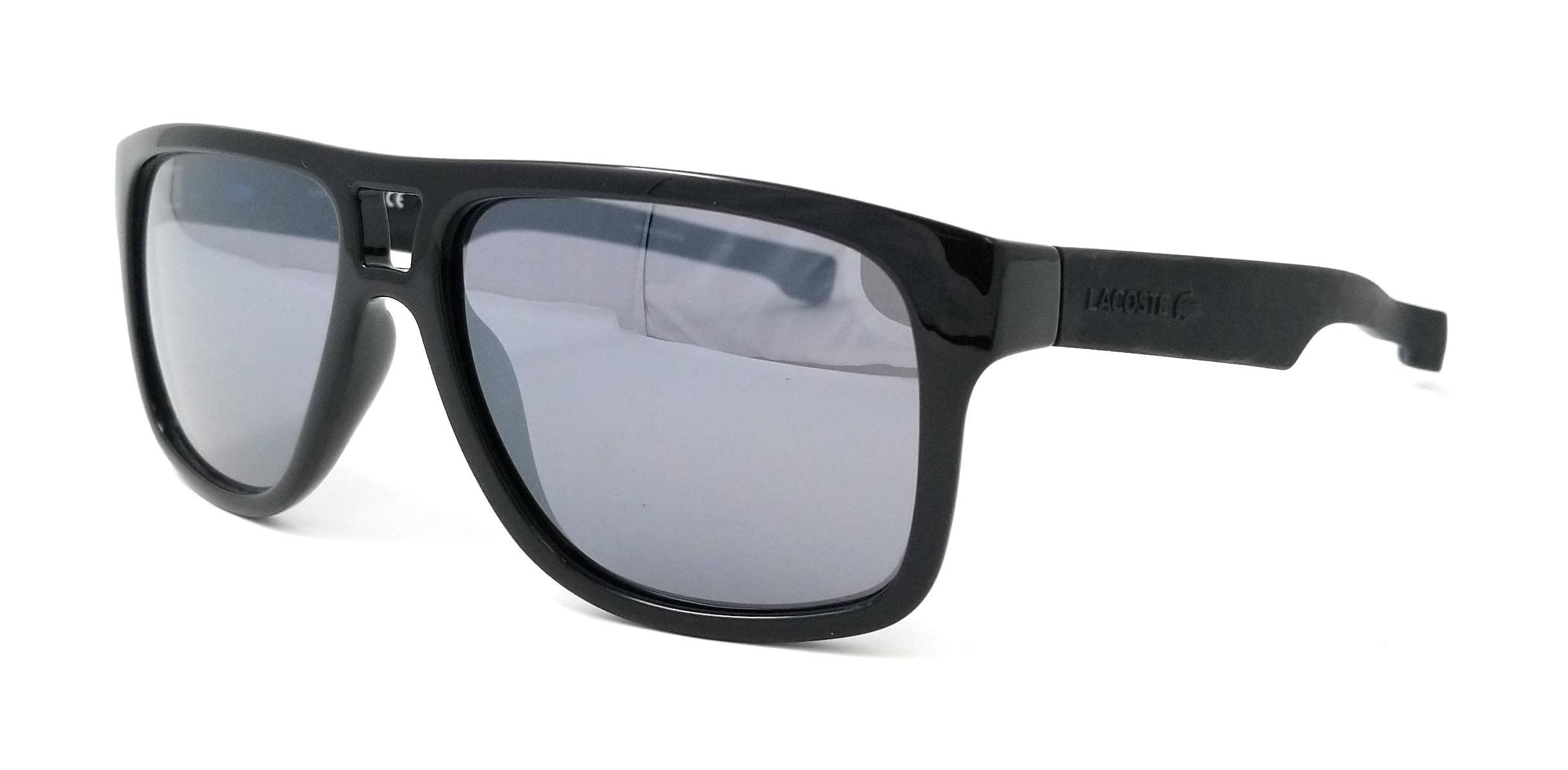 e1e76ca216b6 Lacoste - LACOSTE Sunglasses L817S 001 Black Rectangular Mens 57x15x140 -  Walmart.com