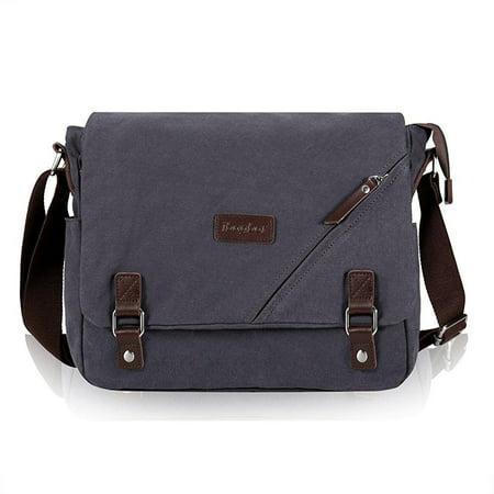 7ba538eb75 ibagbar - ibagbar canvas messenger bag shoulder bag laptop bag ...
