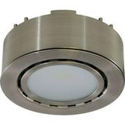 Liteline UCP-LED1-MN Mercury Free Puck Light, 2 W, 12 VDC, 1 Light, LED