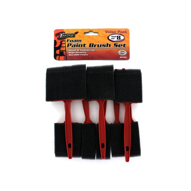 Bulk Buys MS092-96 Foam Paint Brush Set