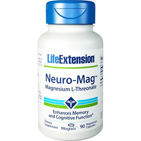 Life Extension Neuro-Mag Magnesium L-Threonate 90 Vegetarian