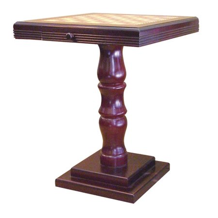 ORE Furniture Pedestal Base Chess (Traditional Pedestal Base)