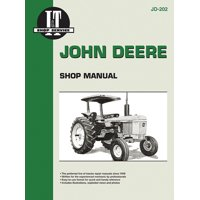John Deere Shop Manual Jd-202 Models: 2510, 2520, 2040, 2240, 2440, 2640, 2840, 4040, 4240, 4440, 4640, 4840 (I&t Shop Service) (Paperback)