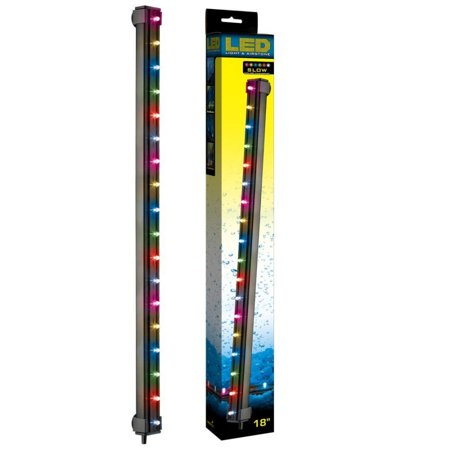 Via Aqua Led Light Airstone Slow Color Changing - 18