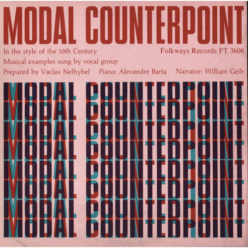 William Geib - Modal Counterpoint: In the Style of the 16th Century [CD]