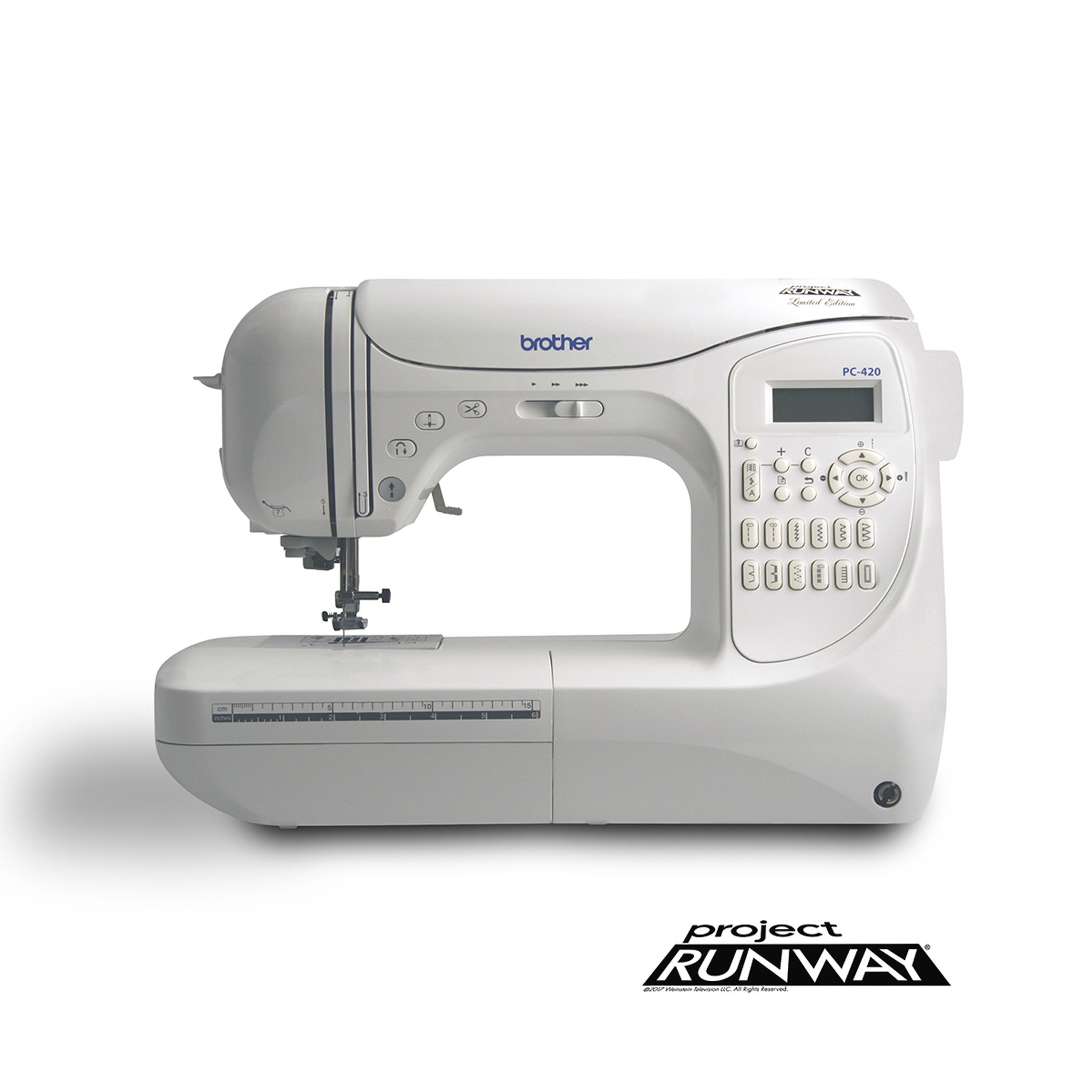 Brother Computerized 294-stitch Project Runway Sewing Machine PC-420PRW