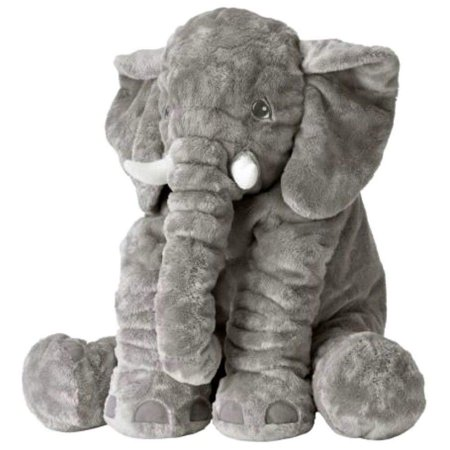 Soft Stuffed Animals (IKEA JÄTTESTOR Large Jumbo Elephant Stuffed Animal Plush Kid Soft)