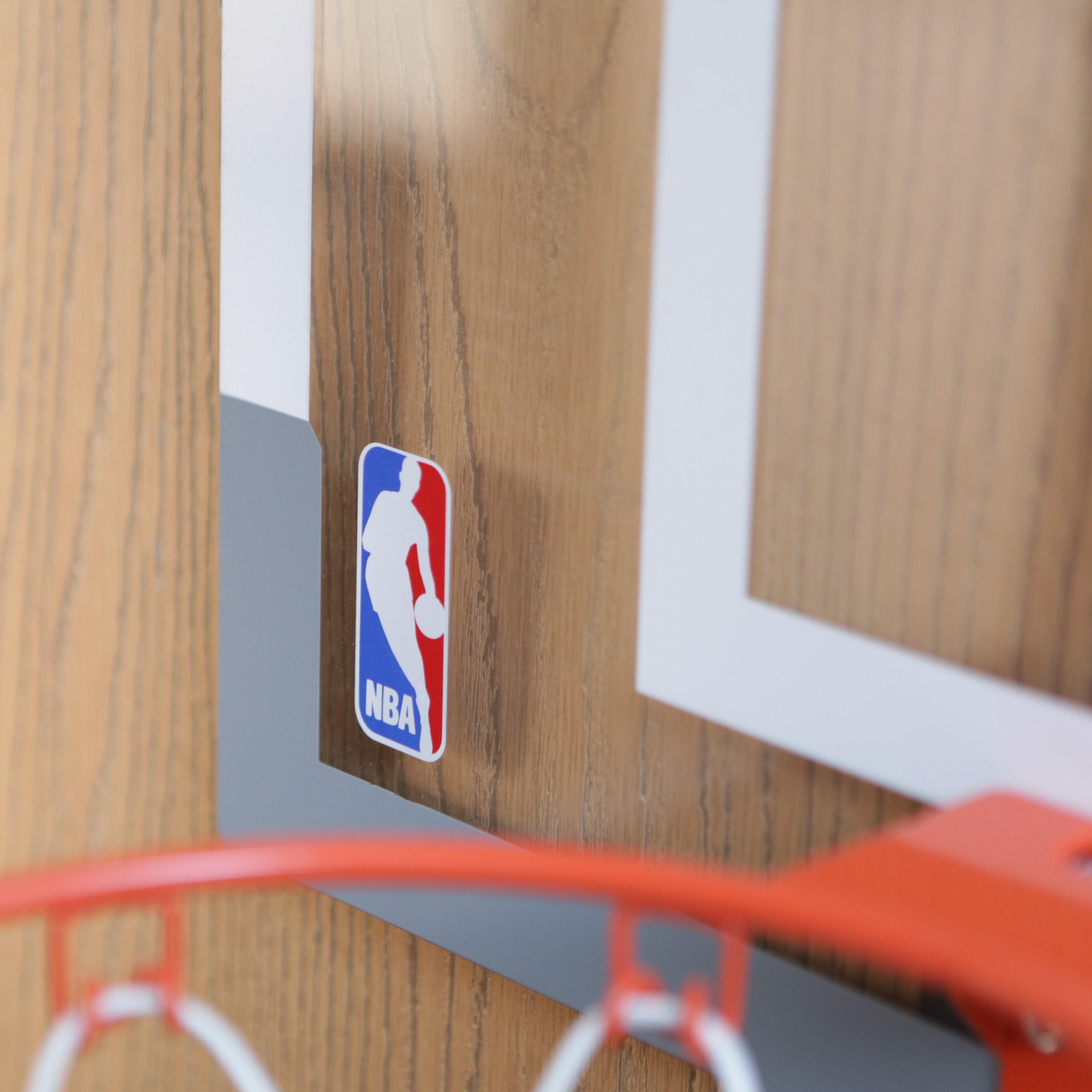 Spalding NBA Slam Jam Over-The-Door Mini Hoop with Mini Basketball - Walmart.com & Spalding NBA Slam Jam Over-The-Door Mini Hoop with Mini Basketball ... Pezcame.Com