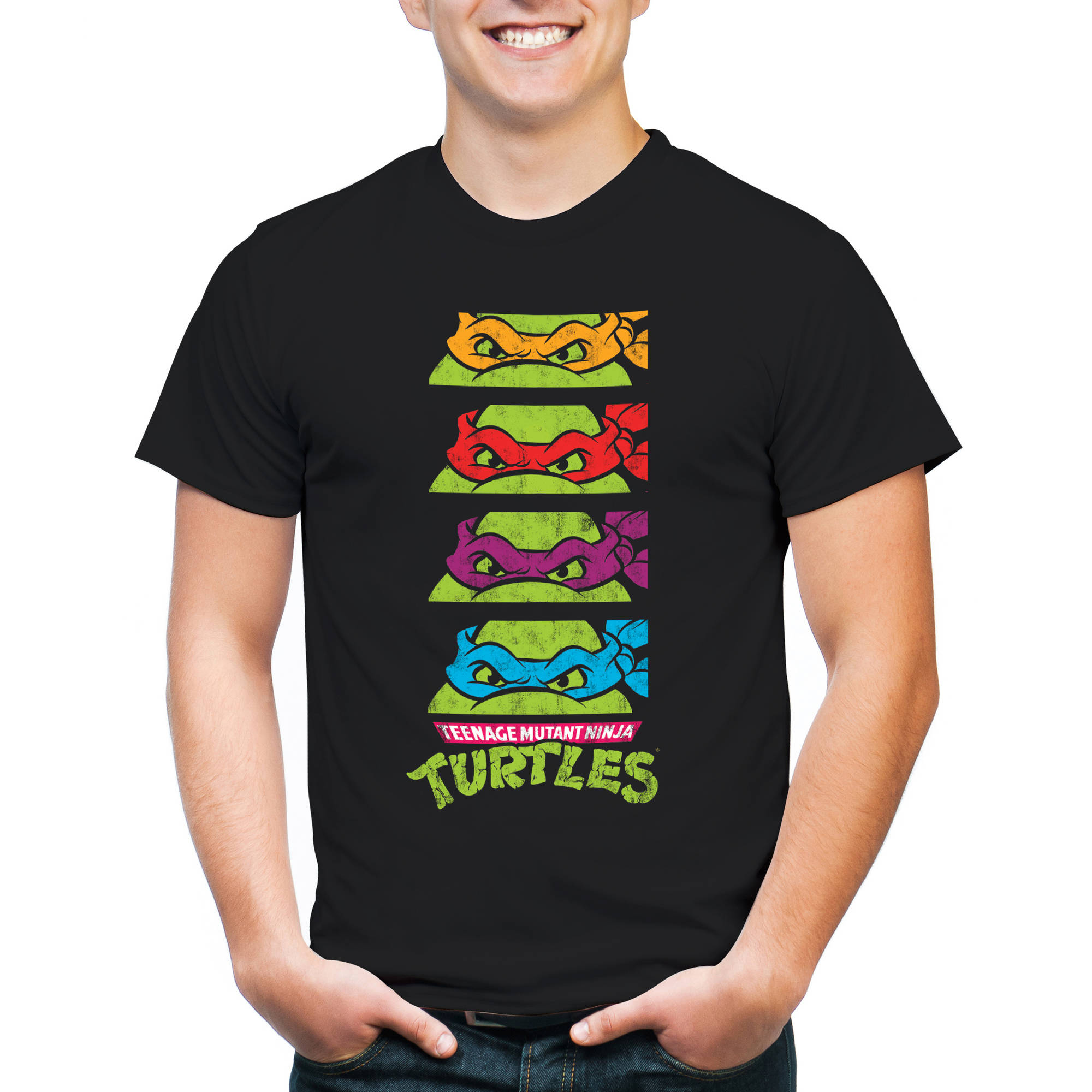 Teenage Mutant Ninja Turtles Men's TMNT Short Sleeve T-Shirt