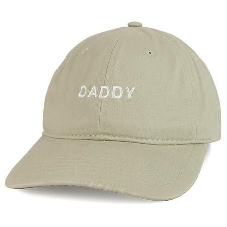 316174c6 Trendy Apparel Shop Daddy Embroidered Low Profile Cotton Cap Dad Hat -  Walmart.com