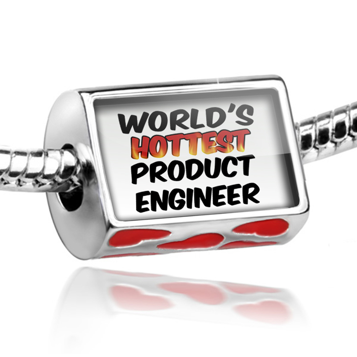 Bead Worlds hottest Product Engineer Charm Fits All European Bracelets