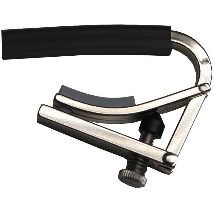 "Shubb C4 Guitar Capo 7.25"" Radius Nickel by Shubb"