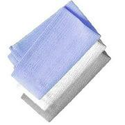 Aquasentials Exfoliating Bath Cloth (4 Pack)