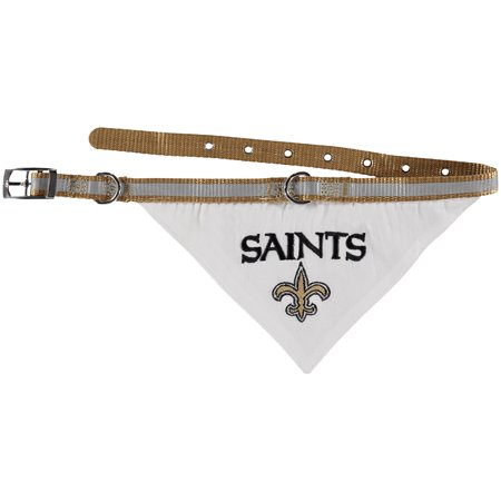 New Orleans Saints Pet Collar Bandana