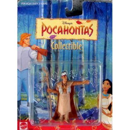 """3"""" Pocahontas Chief Powhatan Collectible Figure - image 1 de 1"""