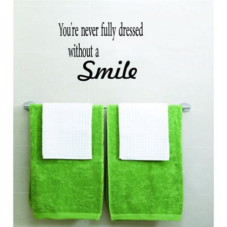 You re Never Fully Dressed Without a Smile Picture Art Boys Bed Room H