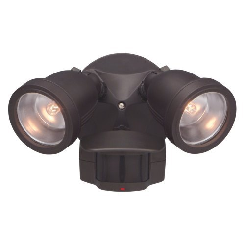 Designers Fountain Outdoor PH218S Area and Security 180 Degree Motion Detector Light
