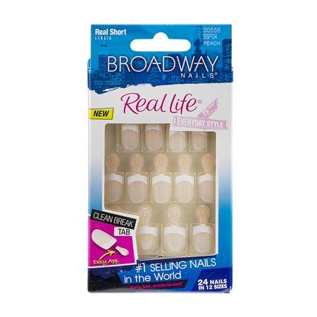 Kiss Products Broadway Nails Real Life Nail Kit, 1 ea