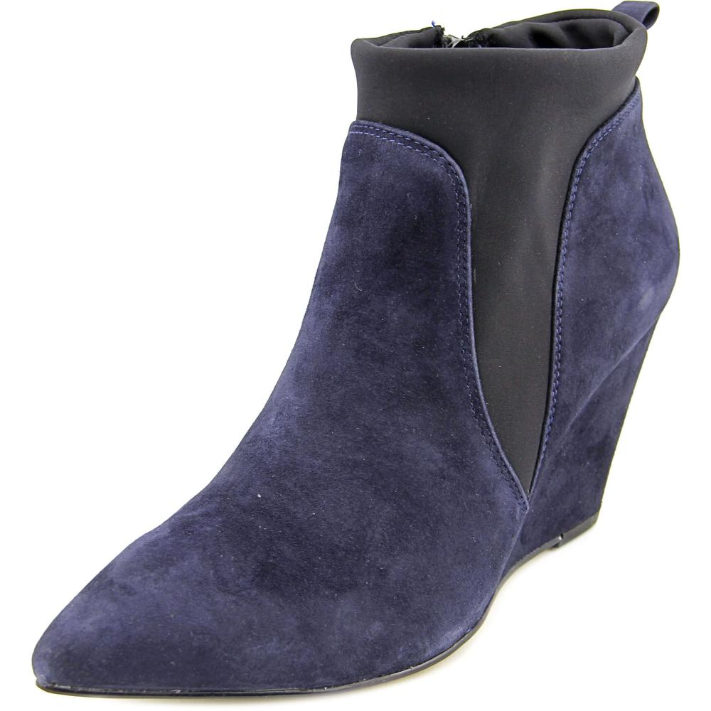 Click here to buy Bella Vita Deryn Women W Pointed Toe Suede Blue Ankle Boot by Bella Vita.