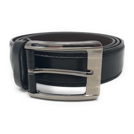 Casaba Italian Style Genuine Leather Mens Waist Buckle Belts 1.5 Inch -