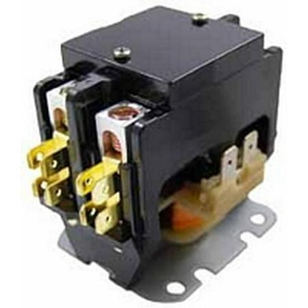 Packard C240C Contactor 2 Pole 40 Amps 208/240 Coil Voltage