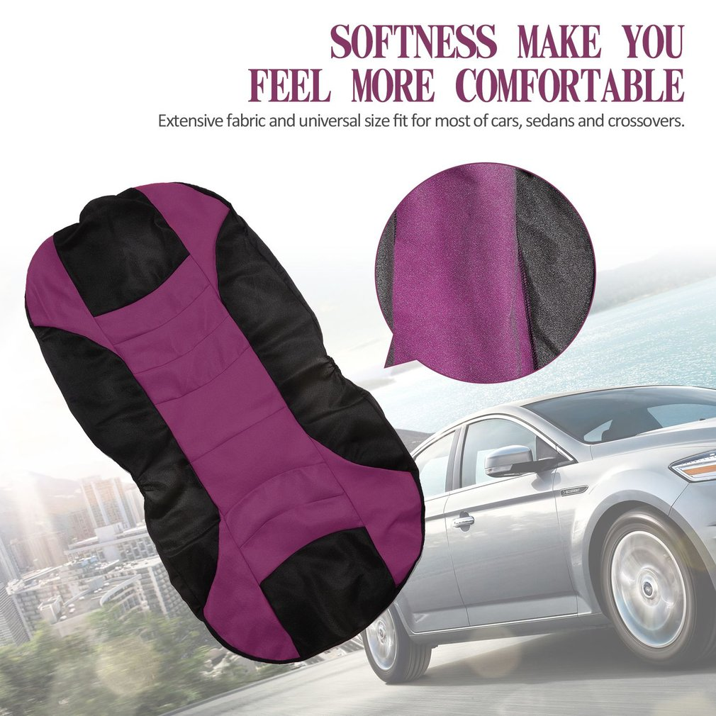 Universal Car Seat Cushions Breathable Covers Pads Head Rest Interior Auto Vehicles Supplies Decor