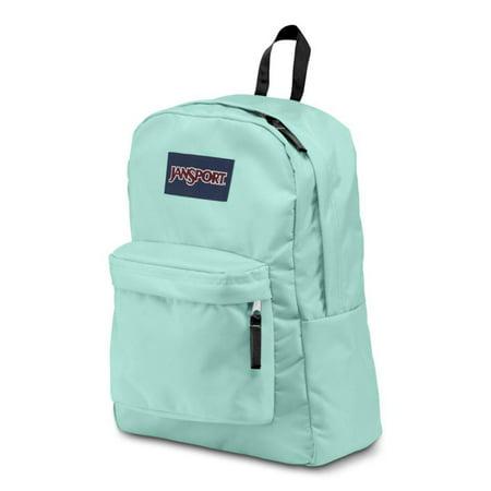 Classic SuperBreak Backpack - Aqua Dash - Black Strap ()