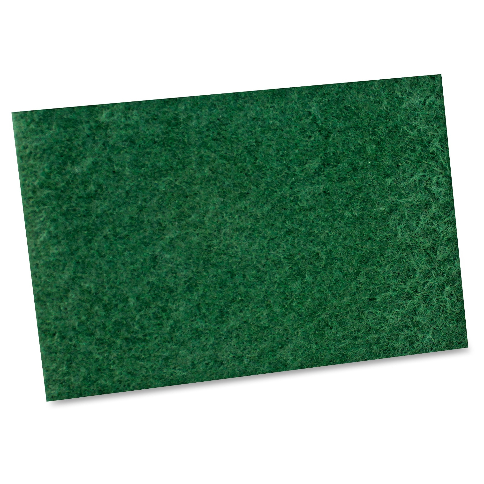 """Impact Products General Purpose Scouring Pad - 6"""" X 9"""" - 10/bag - Green (7135b)"""