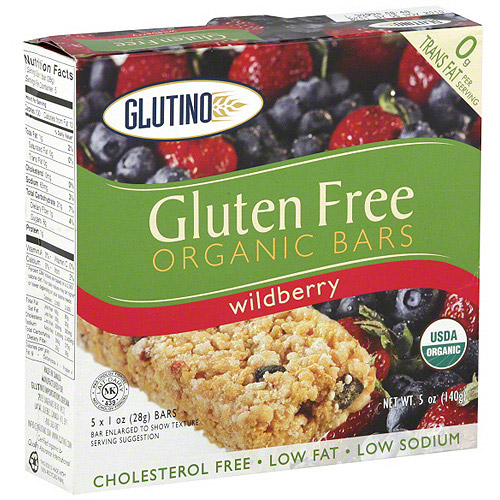 Glutino Wildberry Bars, 5 oz (Pack of 6)
