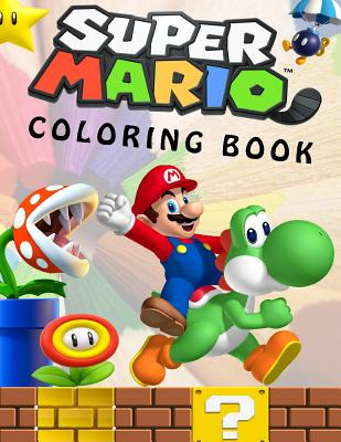 - Super Mario Coloring Book: Great Coloring Book For Kids And Any Fan Of Super  Mario Characters. (Paperback) - Walmart.com - Walmart.com