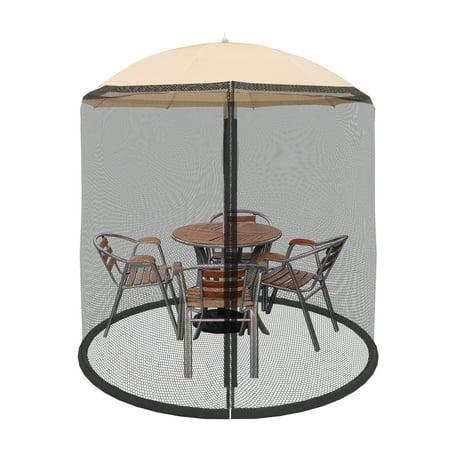 Patio Umbrella Cover Mosquito Netting Screen For Patio