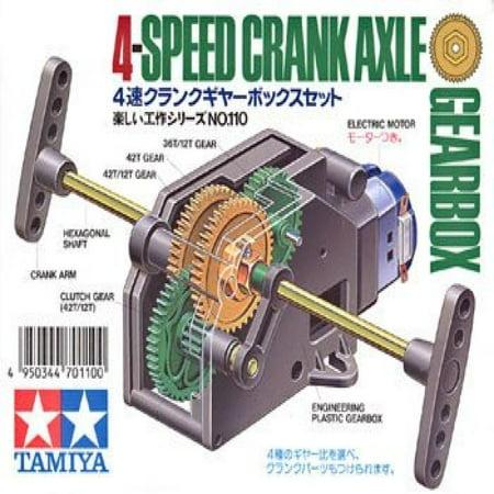 Tamiya TAM70110 4-Speed Crank Axle Gearbox ()