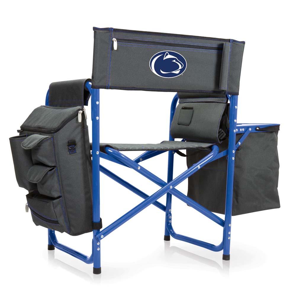 Penn State Fusion Chair (Dk Grey/Blue)