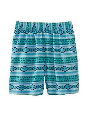 KS Island by KingSize Men's Big & Tall  Printed Swim Trunks