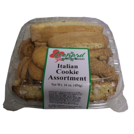 Italian Cookie Assortment (Leonard Bakery) 16 oz (454g) (Rustic Bakery Cookies)