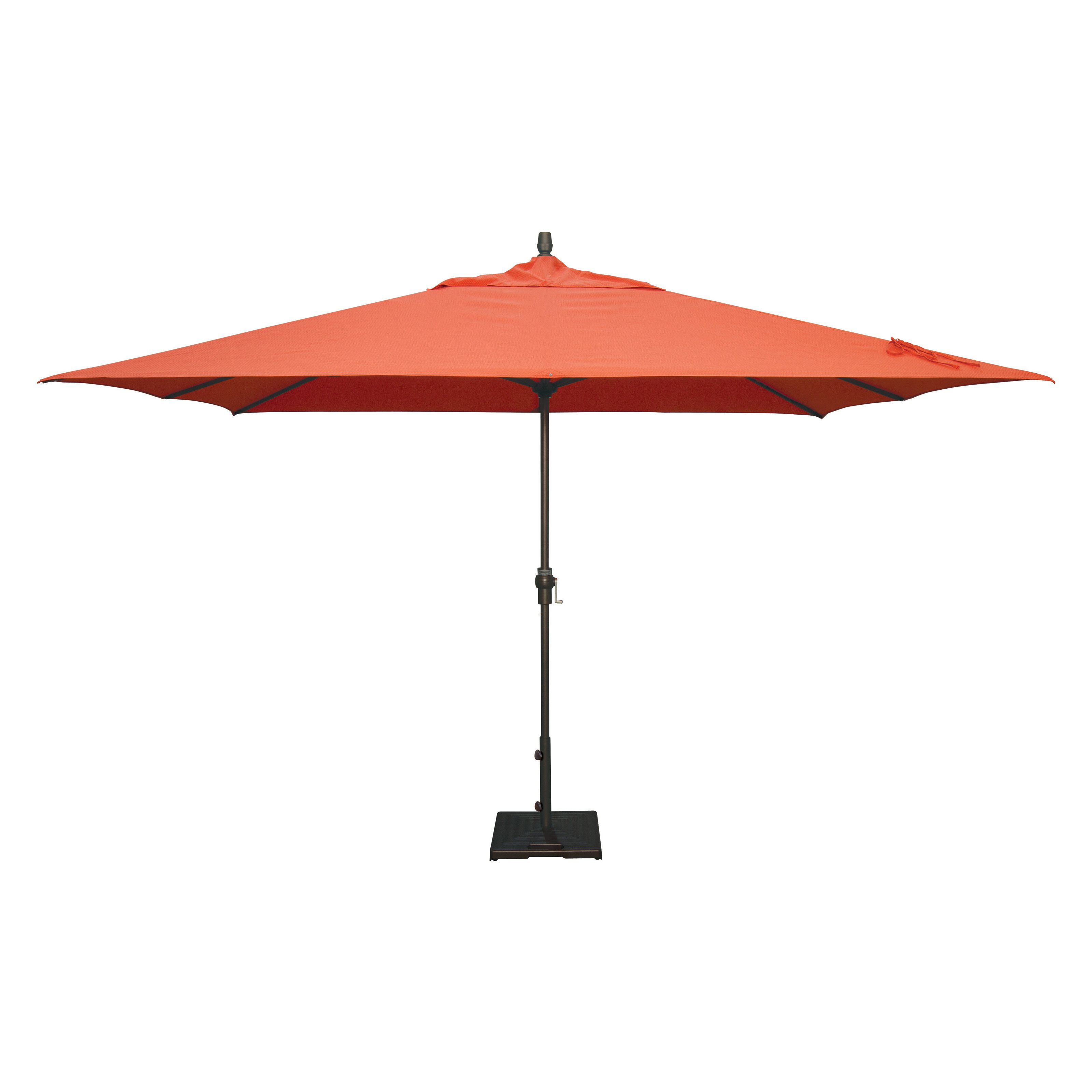 Treasure Garden 11 X 8 Ft. Obravia Rectangle Patio Umbrella